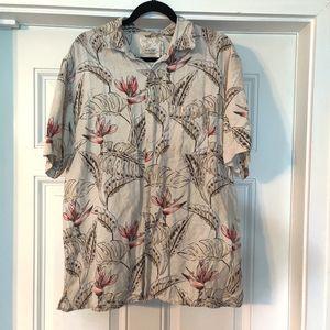 Tasso Elba Island button down shirt size Large